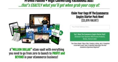 The Simple 5-Page Ecommerce Funnel That I Used To  Create A Full-Time Income Online!