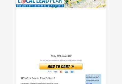 Local lead plan – Local lead generation training course